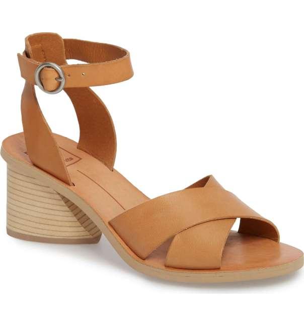 Dolce Vita Roman Flared Heel Sandals